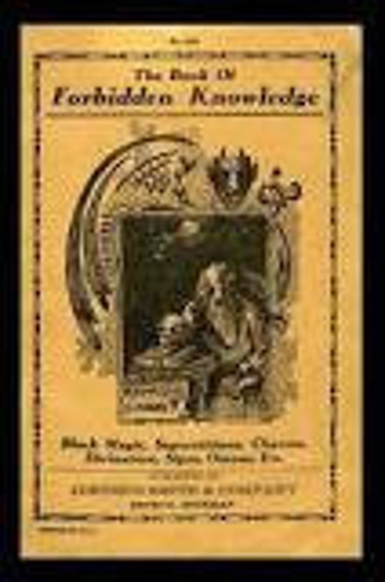 The Book of Forbidden Knowledge by A  P  Sinnett 1919 PDF Book