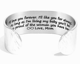 Mother to Daughter Gifts   I'll love you forever I'll like you for always As long as I'm living my baby you'll be   Daughter Gift