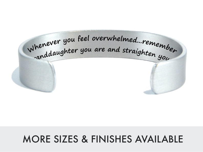 Whenever you feel overwhelmed...remember whose granddaughter image 0