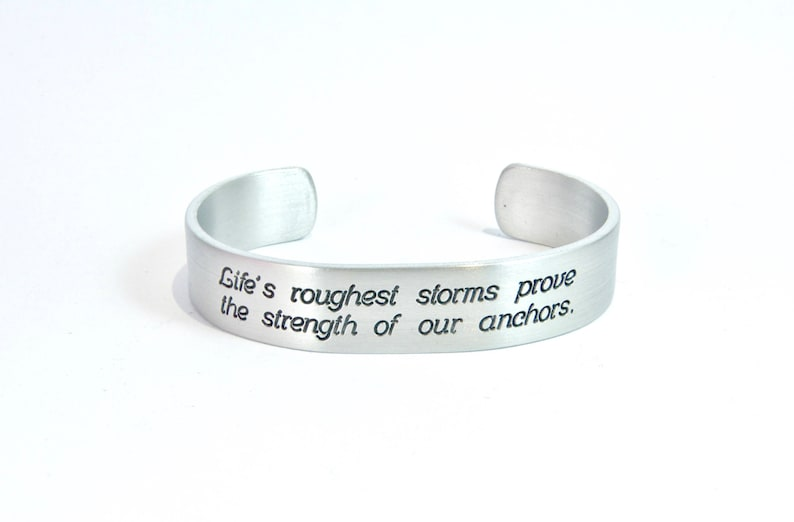 READY TO SHIP  Encouragement Gift  Life's roughest image 0