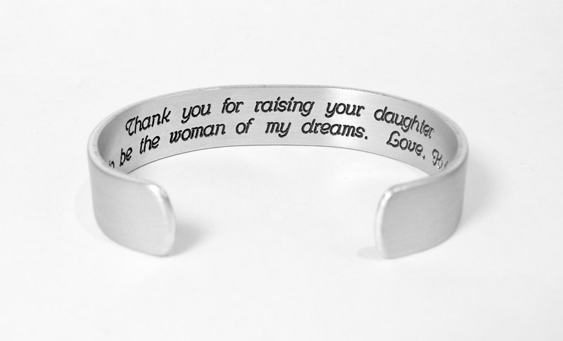 Personalized Mother of the Bride Gifts  Thank you for raising image 0
