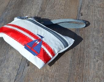 SAIL ANEW Sailboat Wristlet