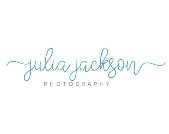 Photography Logo Design - Script logo - Calligraphy Logo - Photography Watermark - Premade Typography Logo
