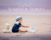 Instant Summer Tones- 17 Summer Color Overlays Digital for Creative Photography