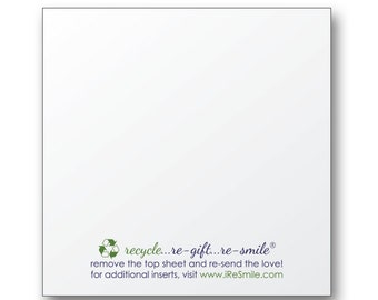 3x3 Blank Sticky Notes for Gifts and Orders