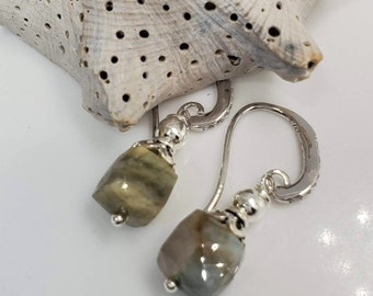 Rare Natural 3D Faceted Opal Gemstones #865