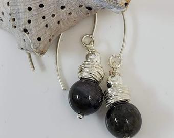 Tourmaline Semi-Precious Gemstones, adorned w/.925 Sterling Silver #869