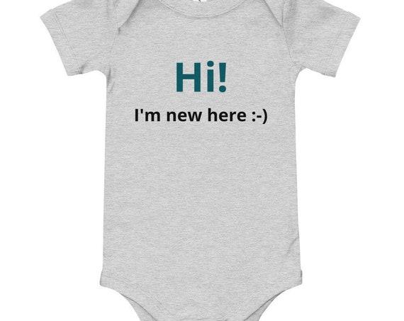 Gender Neutral Baby Onesie - Baby Shower Gift