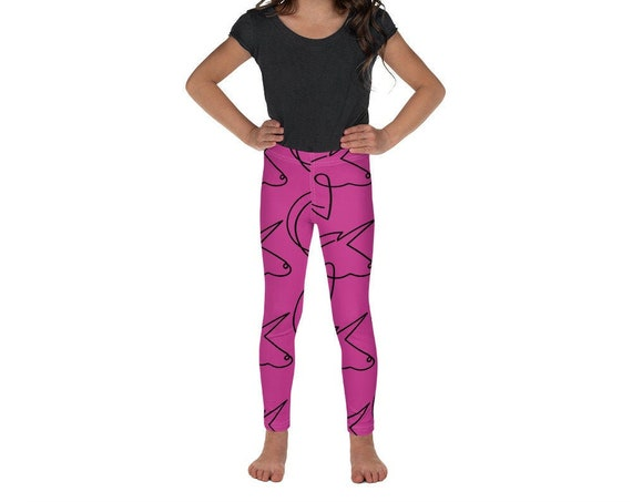 Pink Unicorn Leggings for Kids and Toddlers