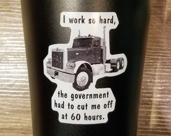 Large Travel Mug for Truck Drivers