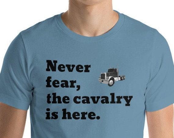 Trucker TShirt with 90s Peterbilt - Truck Driver Vintage Semi Gift