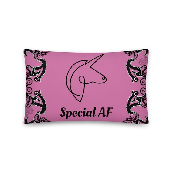 Special AF Unicorn Pillow and Cover