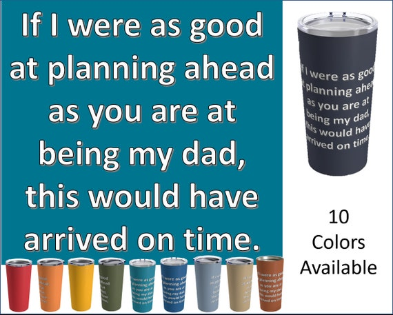 Last Minute Father's Day Travel Mug