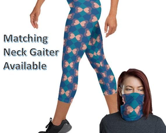 Capri Leggings - matching neck gaiter available