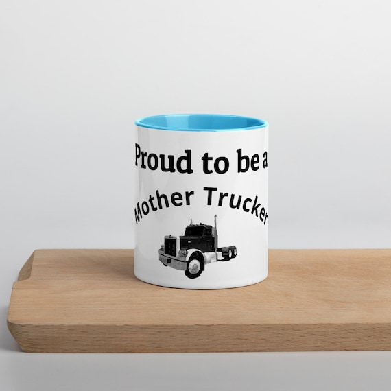 Mother Trucker Mug - Gift for Woman Truck Driver
