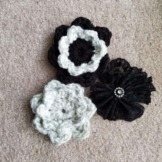 Set of 3 Flower Pins