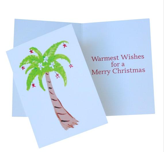 image 0 - Palm Tree Christmas Cards