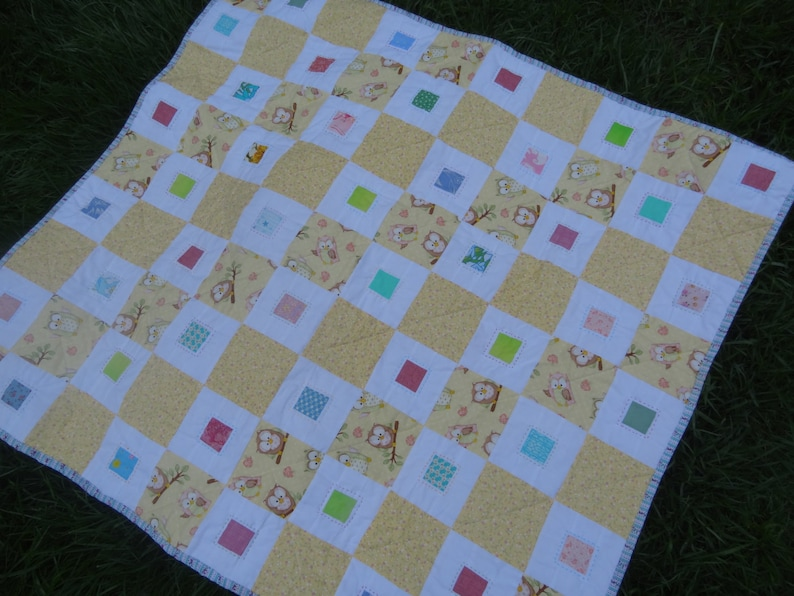 Quilt pattern. PDF file to download. BABY CAKES quilt. image 0