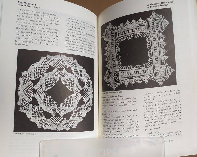 THE Home Art Crochet Book