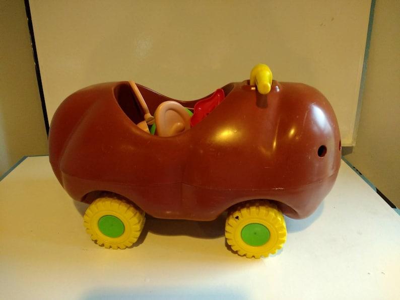 Vintage Rare Ride On Mr Potato Head Toy 1973 With Pieces Unique Vintage Riding Toy