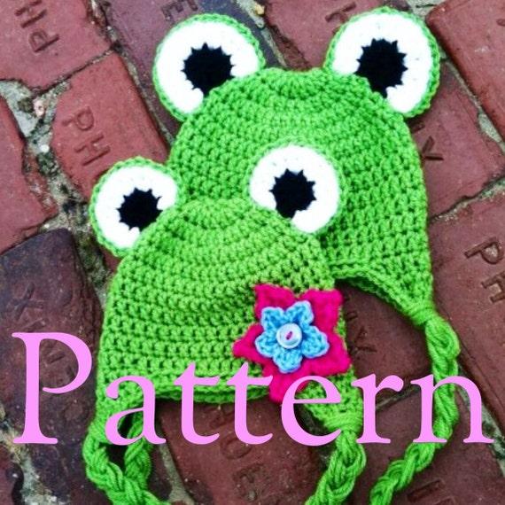 Frosch Hat Muster häkeln   Etsy