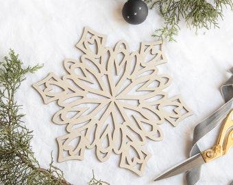 San Diego//Los Angeles Chargers Christmas Snowflake Christmas Ornament