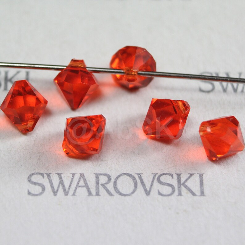 8pcs Swarovski Element 6000 Top Drilled 11mm Teardrop Pendant Crystal Light Siam
