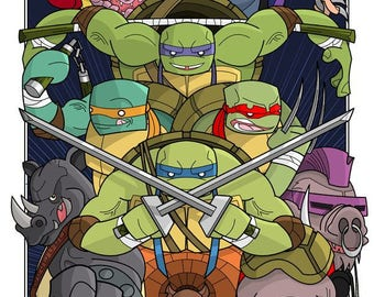Teenage Mutant Ninja Turtles.