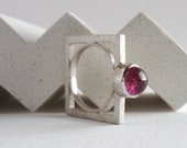 Pink tourmaline ring for ...