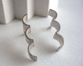 Architectural silver earr...