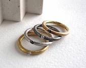 Simple diamond ring and b...