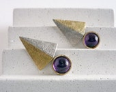 Amethyst silver and gold ...