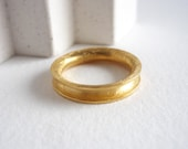 4mm gold plated ring for ...