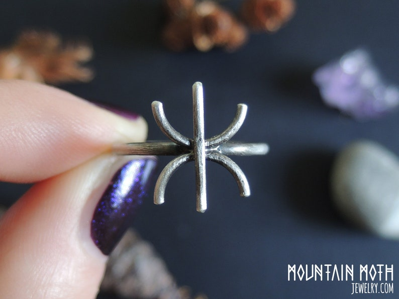 Futhark Norse Gilch Rune attracts Wealth and Prosperity image 0