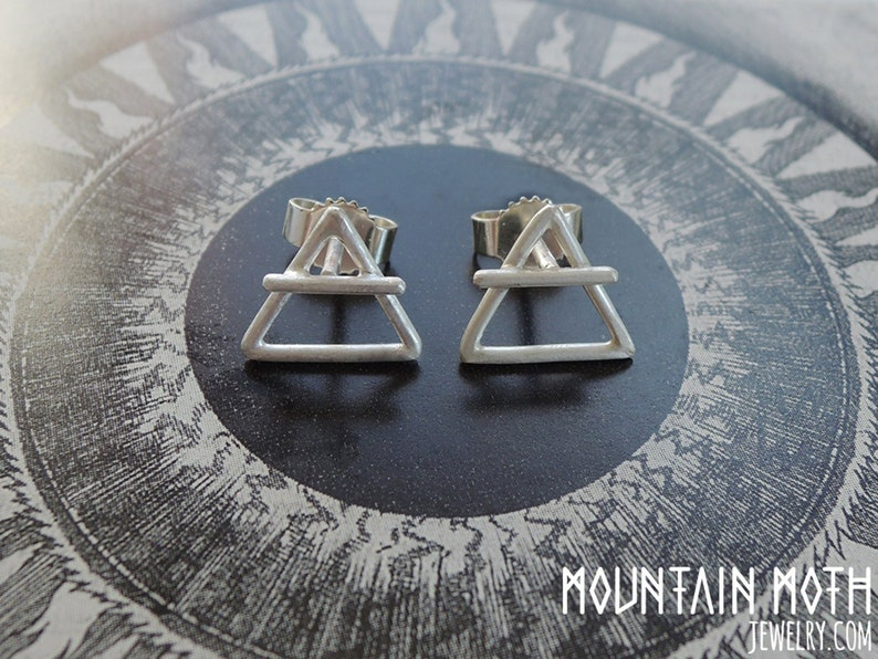 Magical Alchemy Symbols of the Element of Air and Soil  image 0