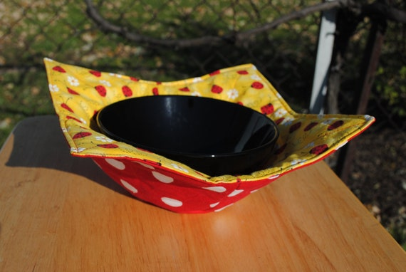 Microwaveable Bowl Cozy Microwave Bowl Potholder Etsy