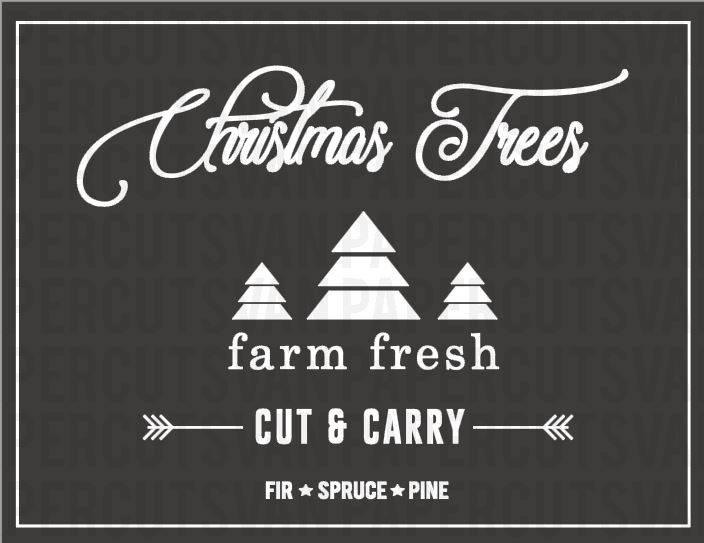 Fresh Christmas Trees Svg.Farm Fresh Christmas Trees Svg Farm Fresh Svg Christmas