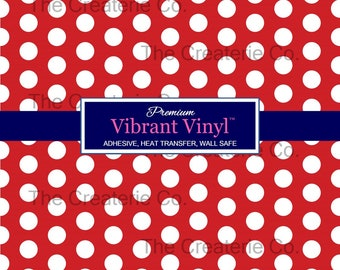 1abad788a85 Polka dot vinyl