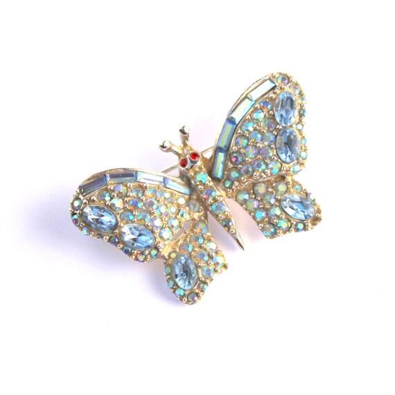 1940's PELL Butterfly Brooch