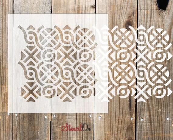 Heart Shapes Design Petit minces en Plastique Réutilisable Art Craft pochoir