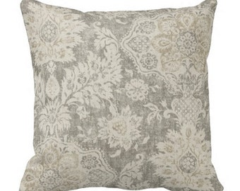 Neutral Pillows, Grey Pillows,Pillow Covers, Couch Pillows, Decorative  Pillows,Throw Pillows, Pillow Sets, Euro Shams, Beige Pillows