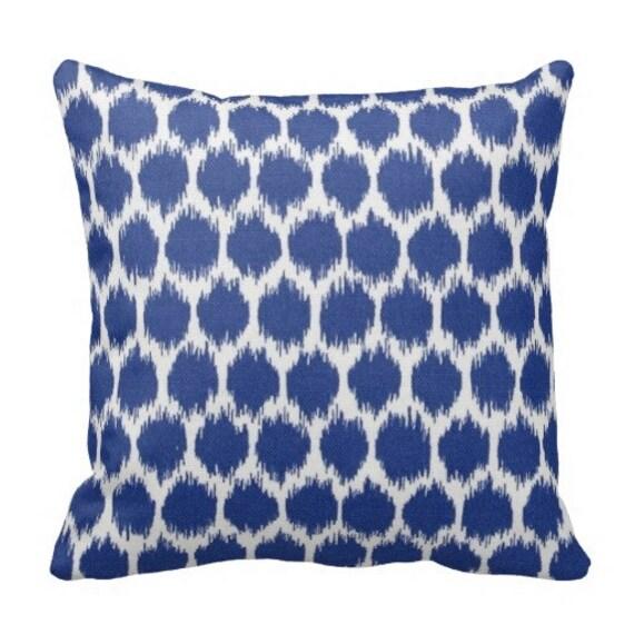 Outdoor Throw Pillows Outdoor Ikat Pillowspatio Pillows Etsy