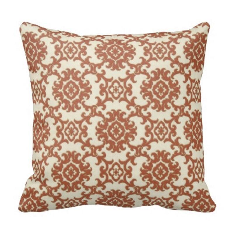 Pool Pillows Orange Outdoor Throw Pillows Patio Decor Patio Etsy