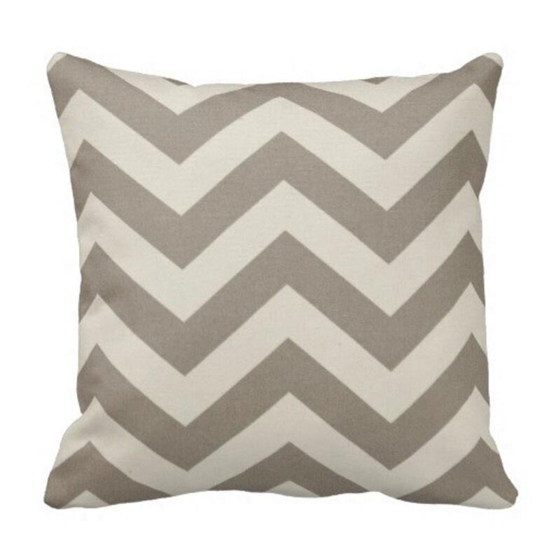 Neutral Outdoor Throw Pillows Patio Decor Beige Decorative Pillows Patio Pillows Outdoor Chevron Pillows Pool Pillow Covers