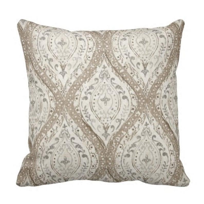 Neutrale Kissen Grau Beige Kissen Kissen Abdeckungen Couch Etsy