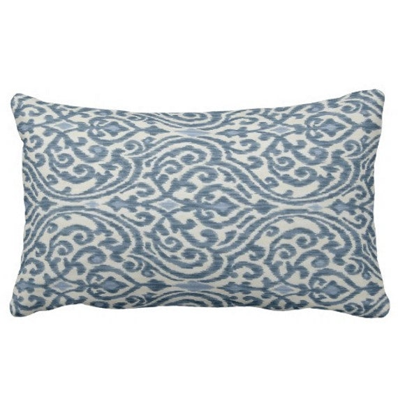 Swell Decorative Blue Pillow Covers Couch Sofa Pillows For Living Room Trellis Pillow Waverly Throw Pillows Indigo Pillows Home Decor Lumbar Evergreenethics Interior Chair Design Evergreenethicsorg