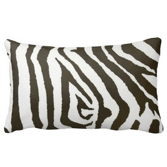 Stupendous Animal Print Outdoor Pillow Cover Outdoor Lumbar Chair Pillows Brown Zebra Throw Pillow Pool Pillows Uwap Interior Chair Design Uwaporg