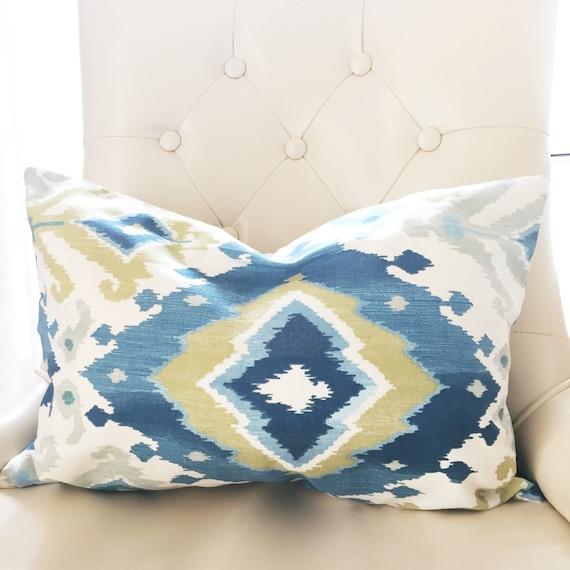 Surprising Chair Pillow Throw Pillows Decorative Pillows Ikat Couch Pillows Blue Ikat Pillow Covers Ikat Pillows Blue Pillows Lumbar Pillow Ibusinesslaw Wood Chair Design Ideas Ibusinesslaworg