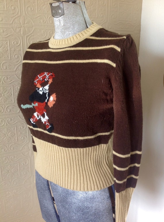 Delightful Vintage Cricket sweater!