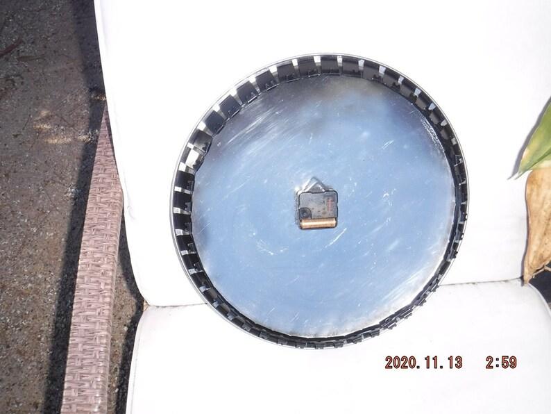 Clock Hub cap man cave 16